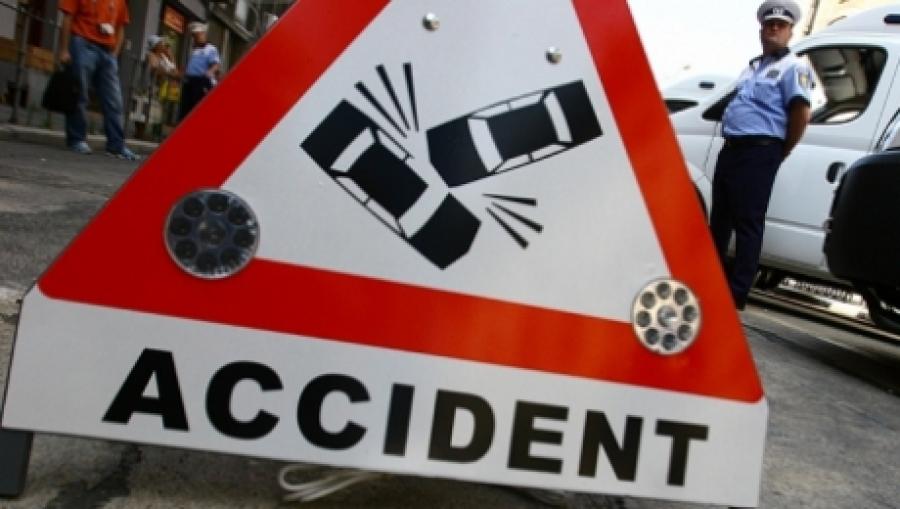 Alt accident pe ruta Tulcea - Agighiol. O persoană a fost rănită