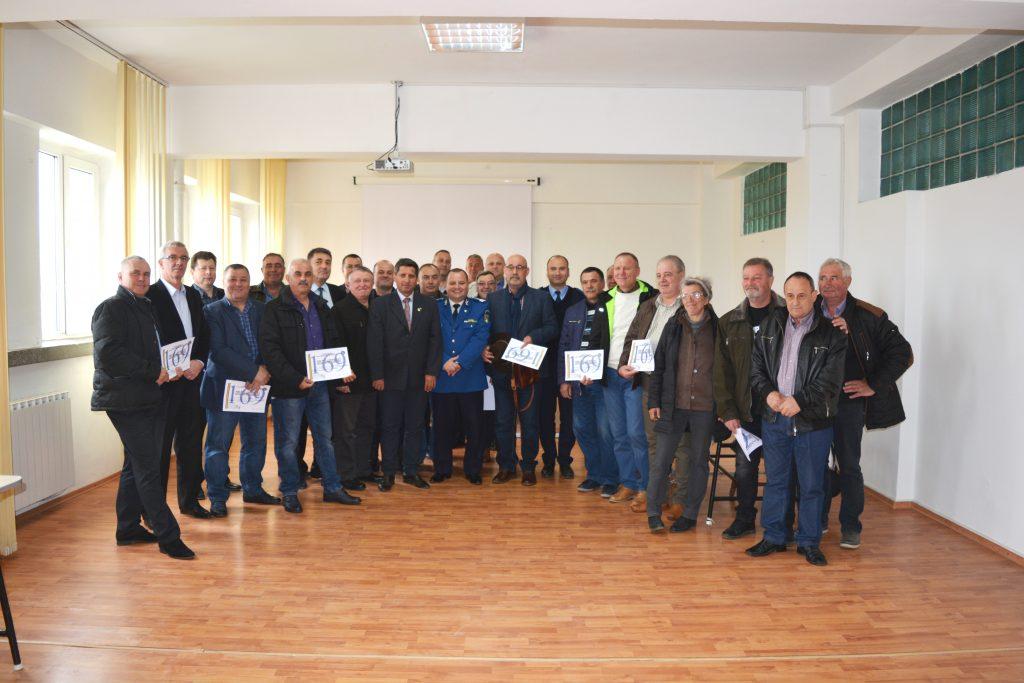 Ziua veteranilor Jandarmeriei Tulcea