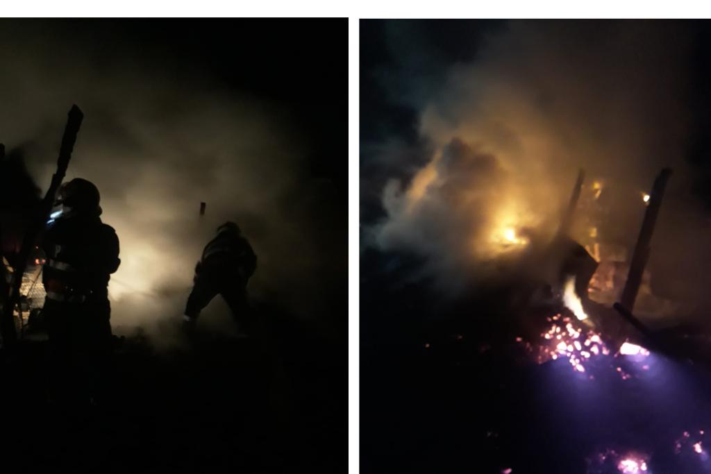 Incendiu de proporții la Măcin. Pompierii au intervenit la timp