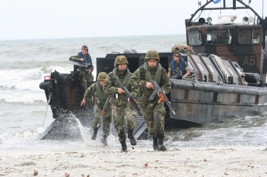 Infanteria marină la ceas de sărbătoare