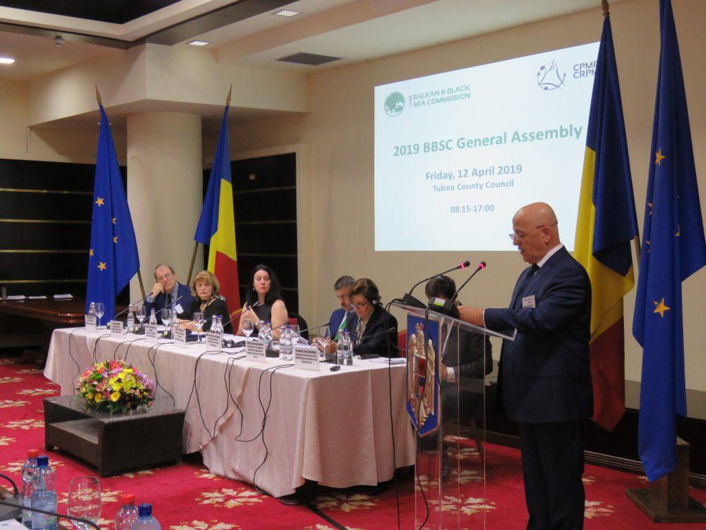 Comisia Balcanică și a Mării Negre s-a reunit la Tulcea. Un tulcean a fost ales prim vicepreședinte