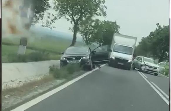 Alt accident la Două Cantoane