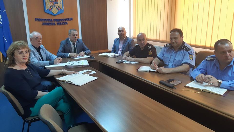 La Tulcea, 526 de lucrători MAI vor fi la datorie în ziua scrutinului, duminică, 26 mai 2019