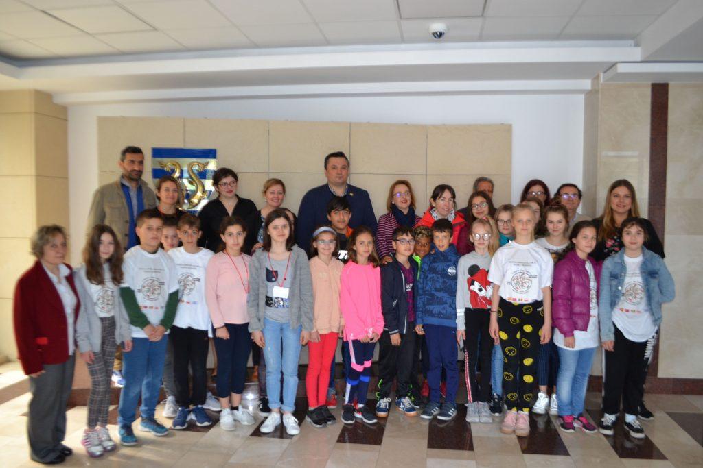 Elevi din patru țări europene în vizită la Tulcea, în cadrul proiectului Erasmus+