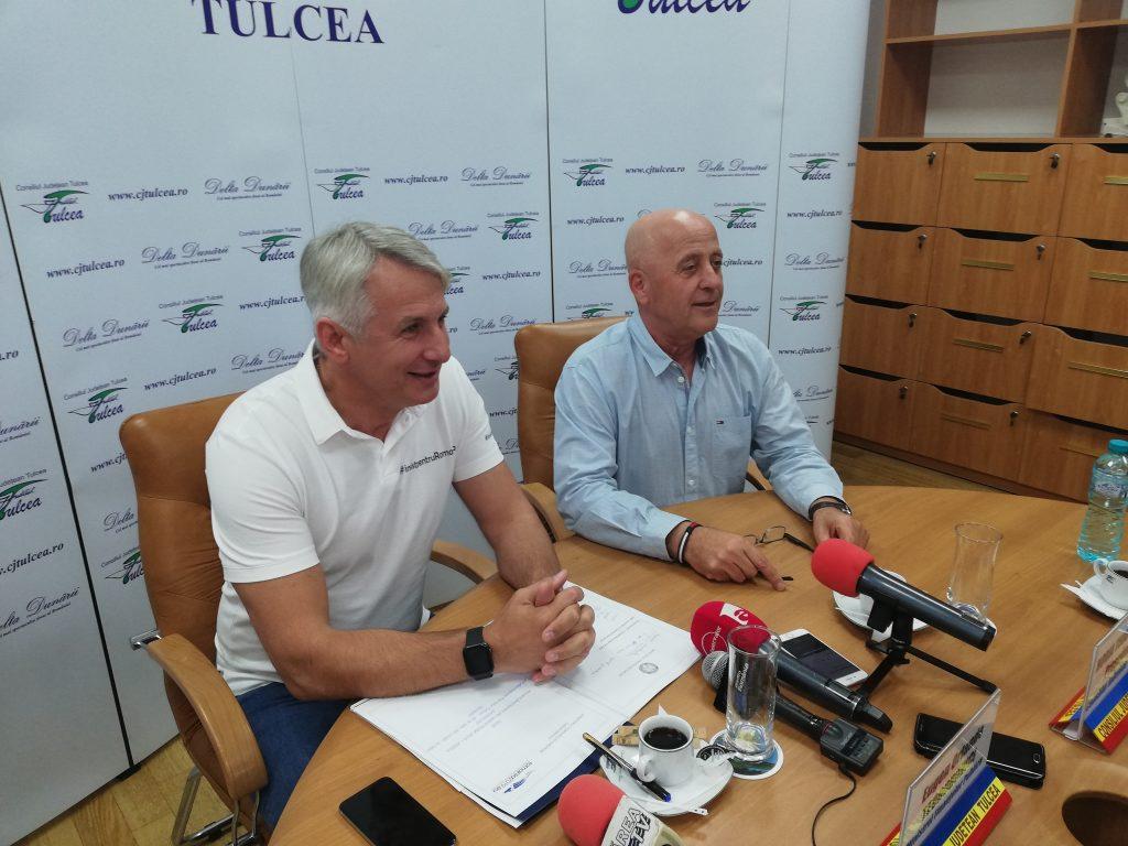 Proiectele majore ale județului, girate de Teodorovici și Teodorescu