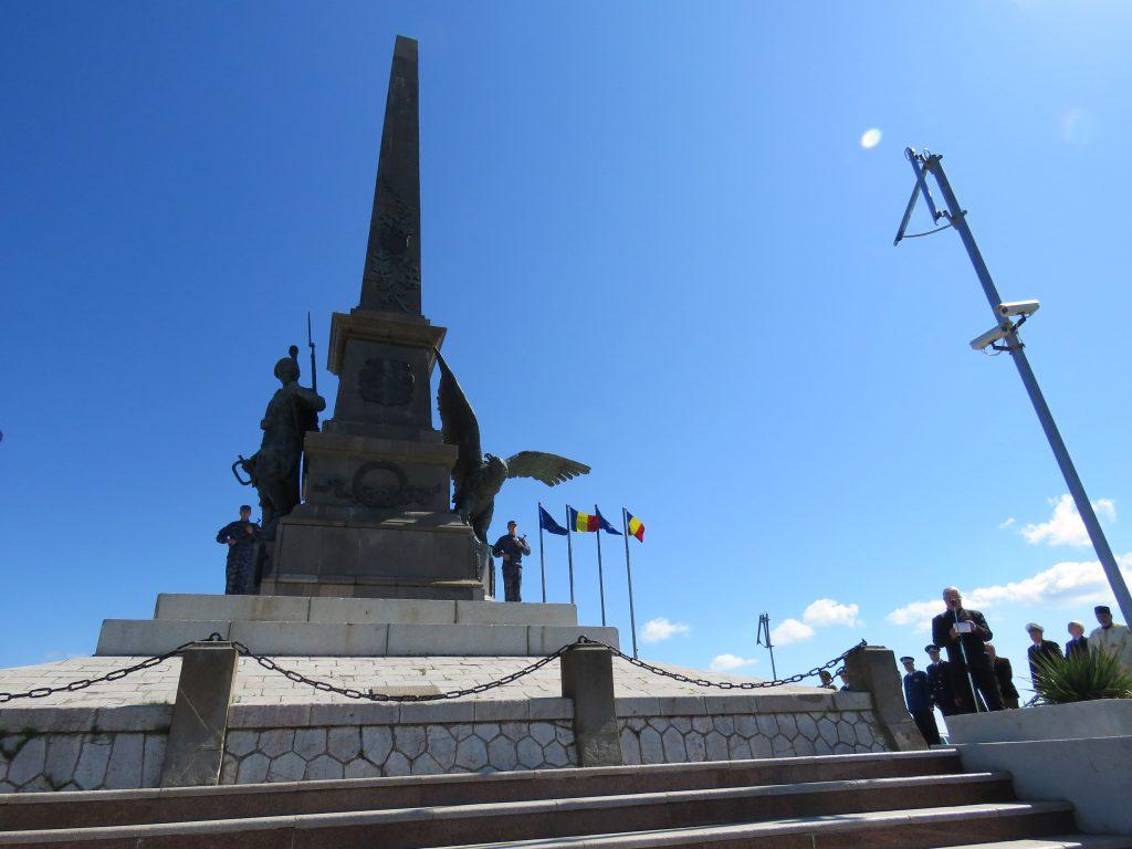 Manifestări dedicate zilei de 9 Mai, la Monumentul Independenței