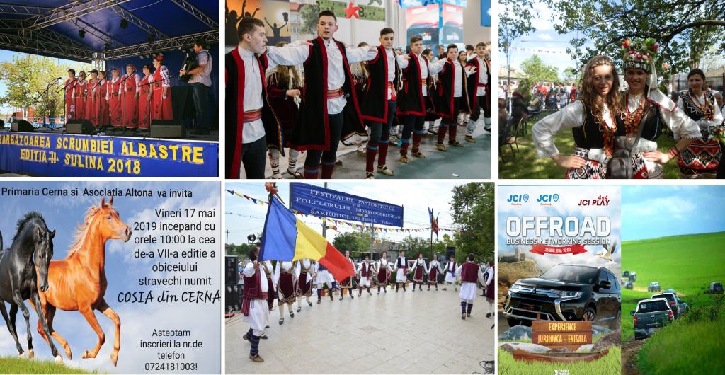 Mai - O lună plină de evenimente în județul Tulcea