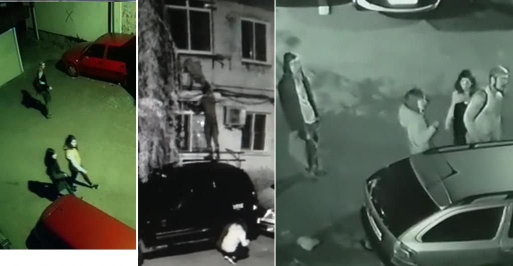 Tineri spărgători filmaţi în cartierul Vest în timp ce operau. Deja poliţiştii îi caută... (video)