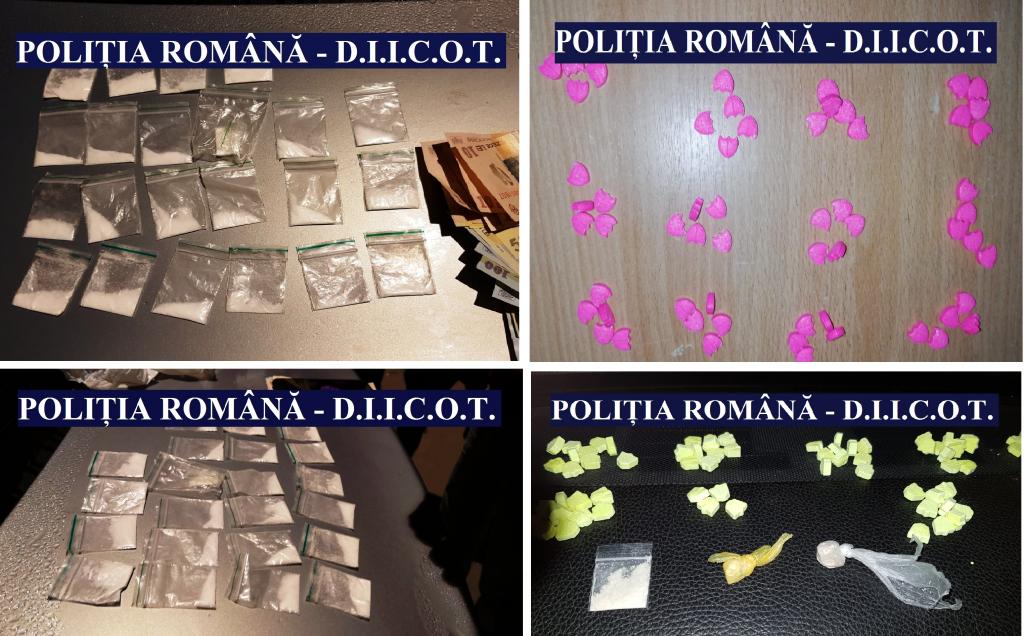DIICOT a lovit în traficanţi! Droguri capturate la Mamaia! Dosare penale pentru 33 de persoane!