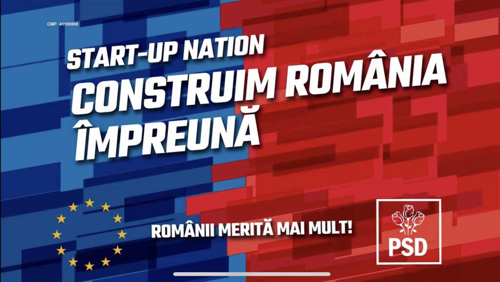 Programul Start–up Nationeste un program înființat de guvernul PSD (P)