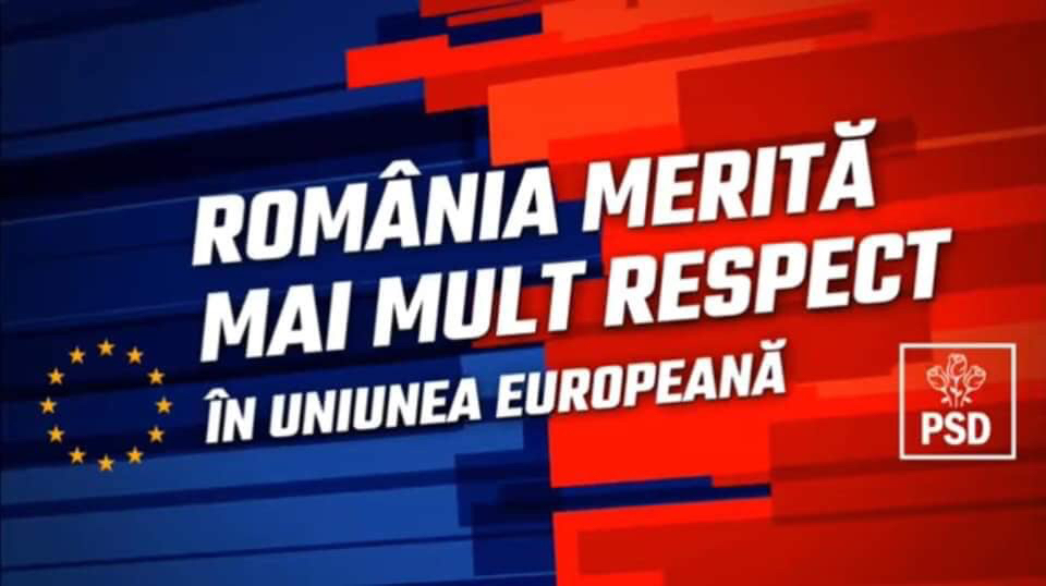 Știm că România merită mai mult pentru că poate mai mult! (P)