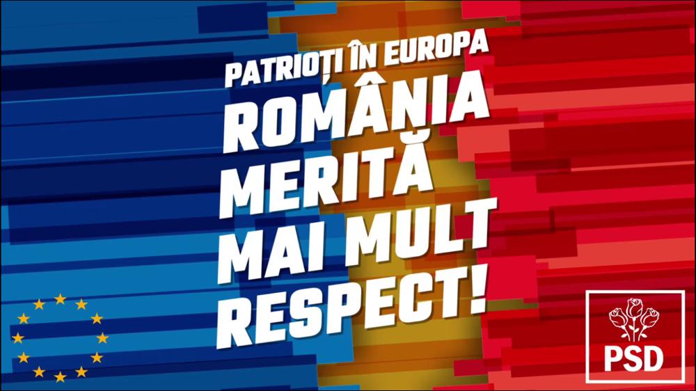 Dezvoltăm România cu fonduri europene, pentru că românii merită mai mult! (P)