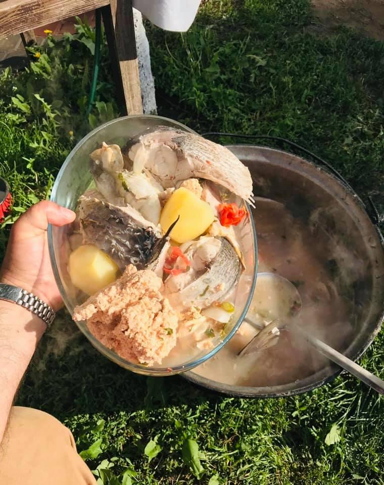 Borș de pește- rețetă din Delta Dunării