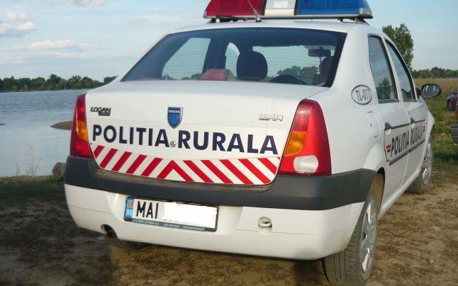 Rupt de beat si fără permis nu a oprit la semnalele polițiștilor. A fost prins după 7 km