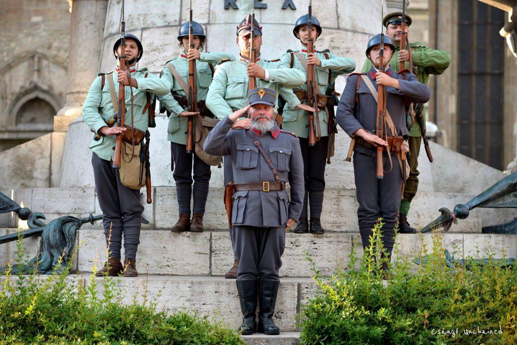Odă ostașilor români căzuți la datorie în Primul Război Mondial în Dobrogea
