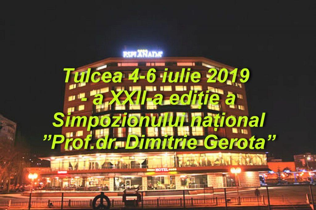 """200 de medici participă la Tulcea la cea de-a XXII-a ediție a Simpozionului național """"Prof.dr. Dimitrie Gerota"""""""