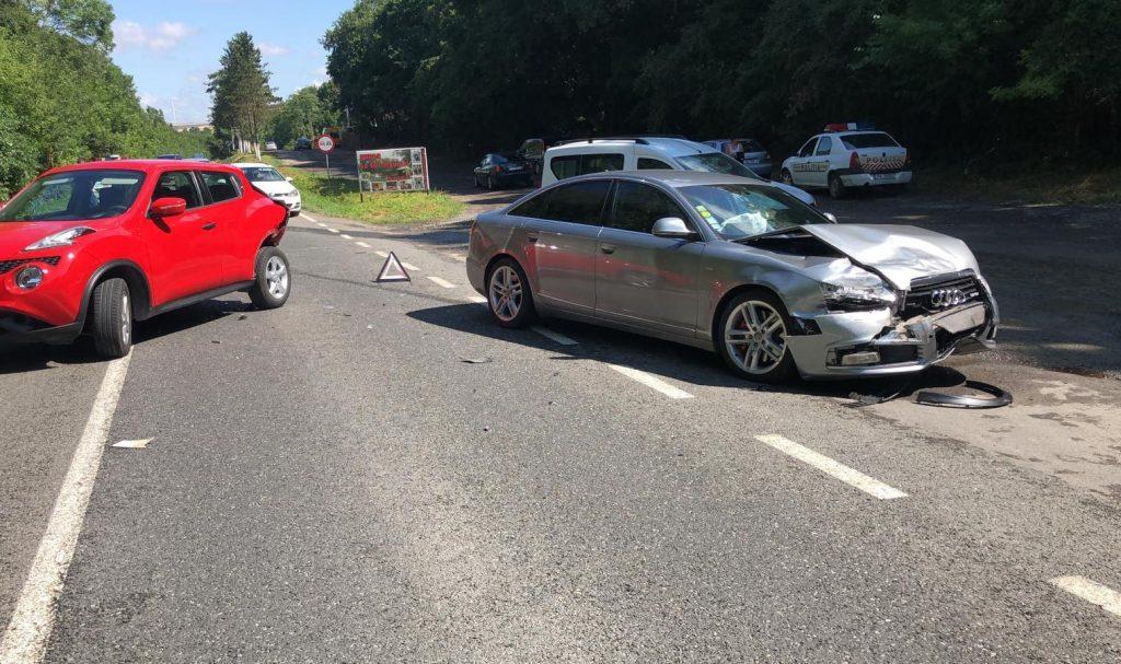 Accident lângă Babadag. Doi oameni au ajuns la spital