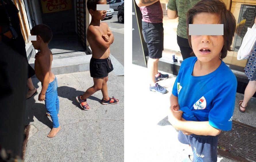 Copiii rromi impun teroarea în Piaţa Nouă. Bătrâni, femei şi copii sunt atacaţi în plină zi! Locala...nu-i!