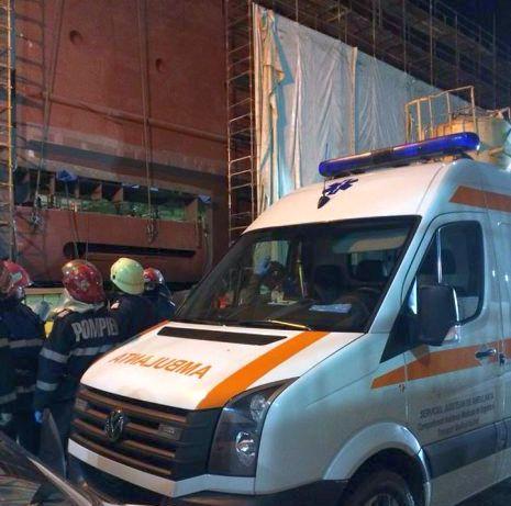 Un angajat ucrainian la un subcontractor Vard a căzut de pe un corp de navă şi a murit!