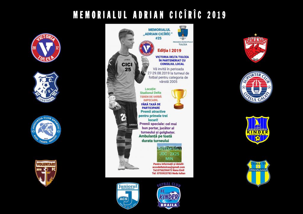 Nume grele din fotbalul românesc vin la Memorialul Adrian Cicîrîc