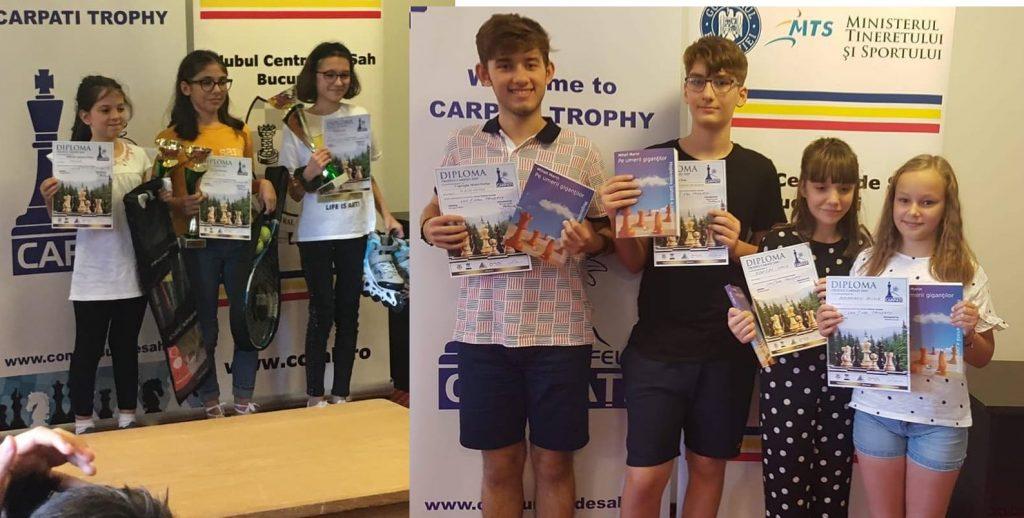Șah - Sportivii tulceni pe podium la Trofeul Carpați