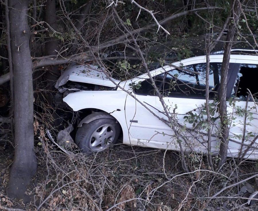 Accident rutier la Stejaru. Pasagerul a ajuns la spital