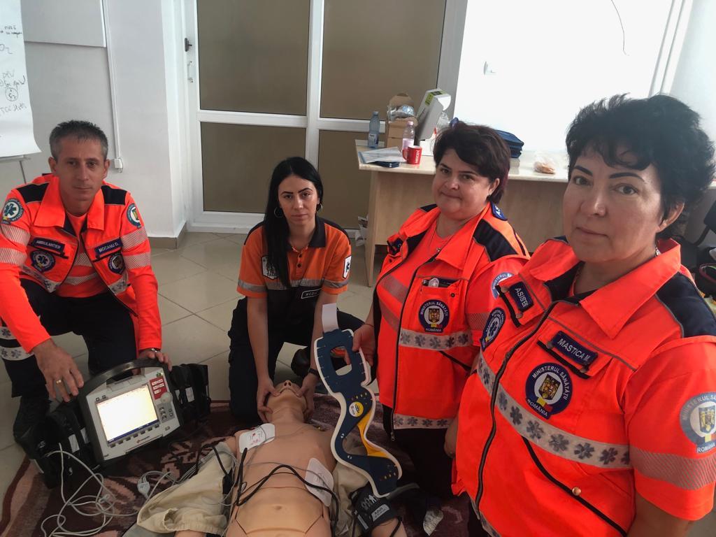 Ambulanța Tulcea se întrece cu colegii din toată țara, la Arad