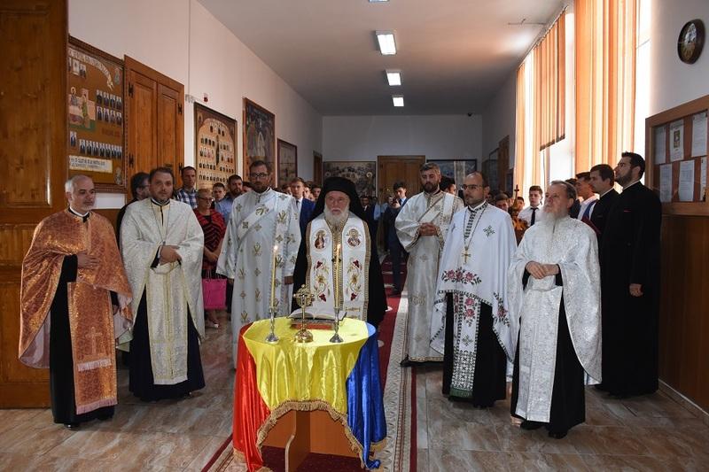"""Festivitatea de deschidere a noului an școlar 2019 - 2020 laSeminarul Teologic Ortodox ,,Sf. Ioan Casian"""" din Tulcea"""