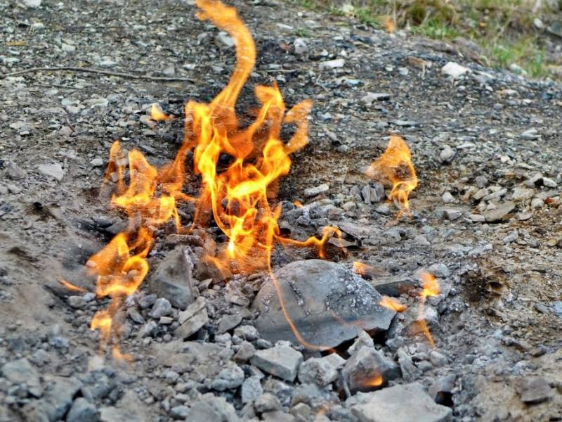 Legenda focului viu din Partizani