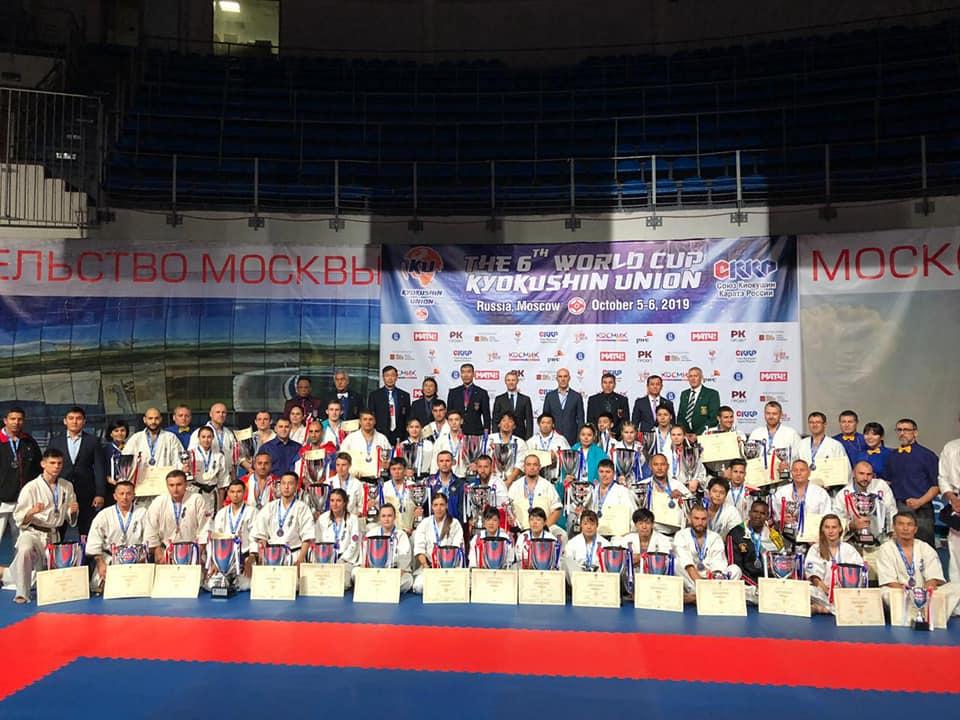 Tulceni de top la World Cup Kyokushin Union