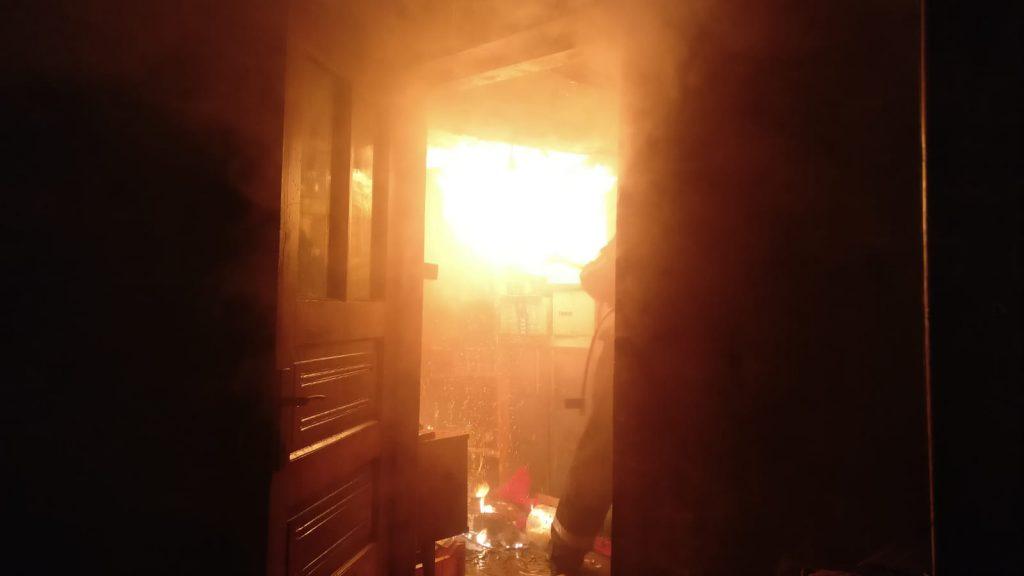 Incendiu la Babadag. A ars o casă