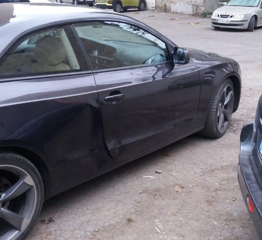 Femeie rănită în Vest de un şofer neatent care dădea cu spatele