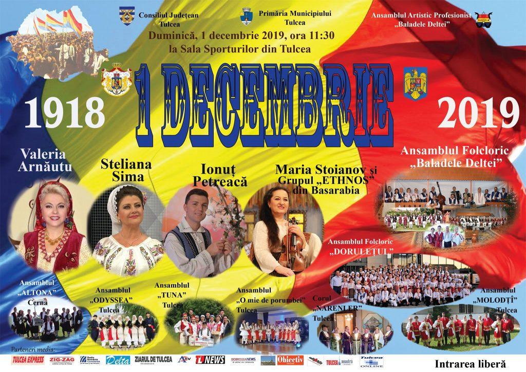 Spectacol dedicat Zilei Naționale a României la Sala Polivalentă