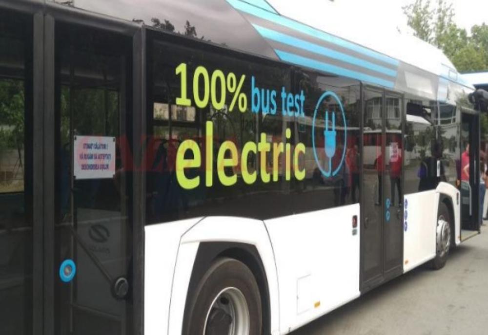 Autobuze electrice pentru Tulcea prin proiect ITI
