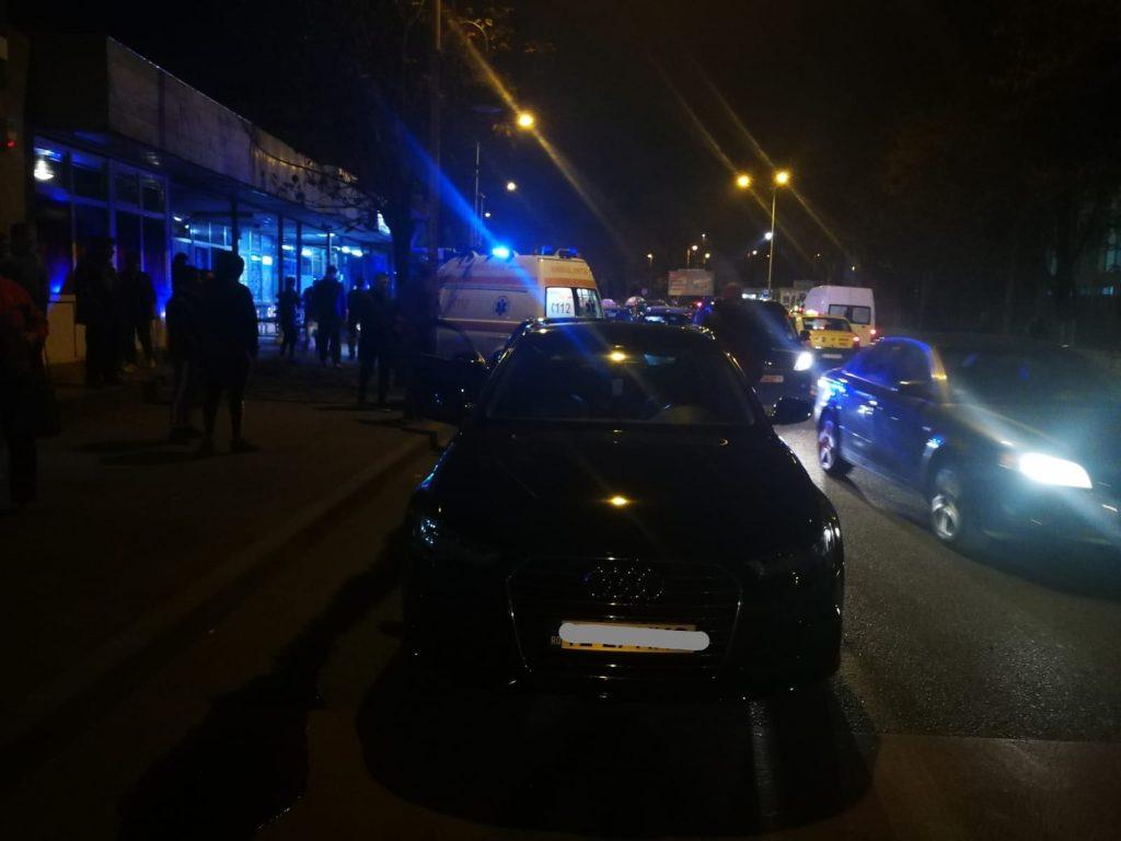 Accident rutier pe Isaccei, în Vest. Un om a ajuns la spital