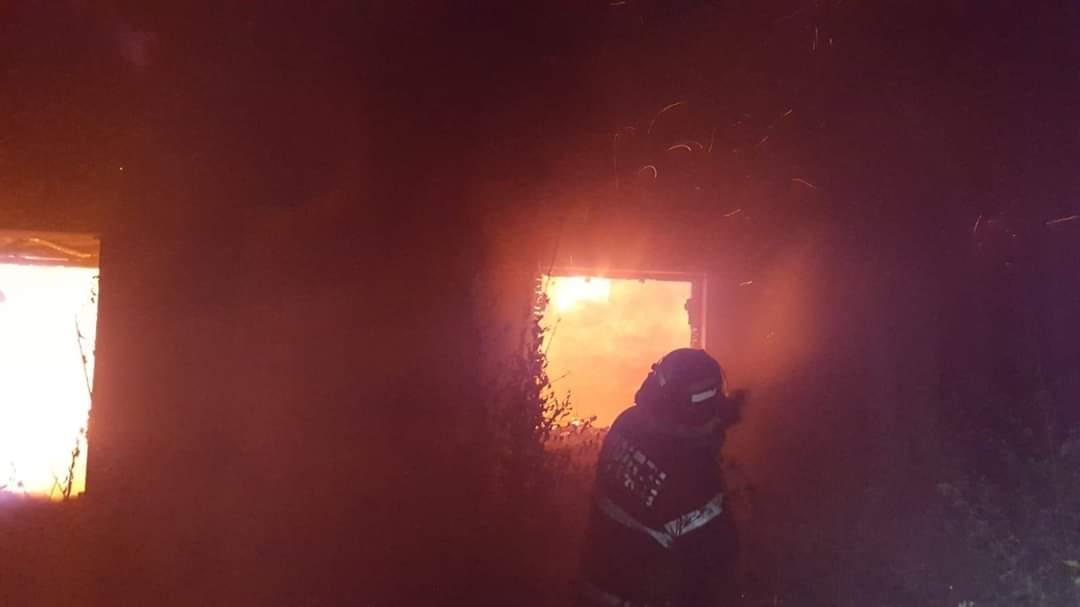 Incendii la Babadag şi Slava Rusă