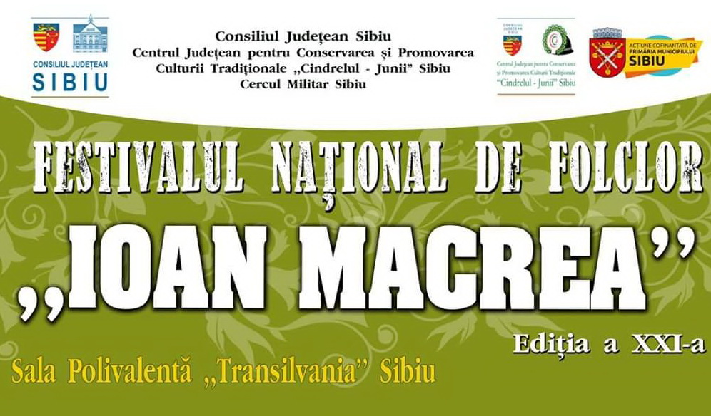 """""""Baladele Deltei"""" participă la a XXI-a ediție a Festivalului Național de Folclor """"Ioan Macrea"""" Sibiu"""