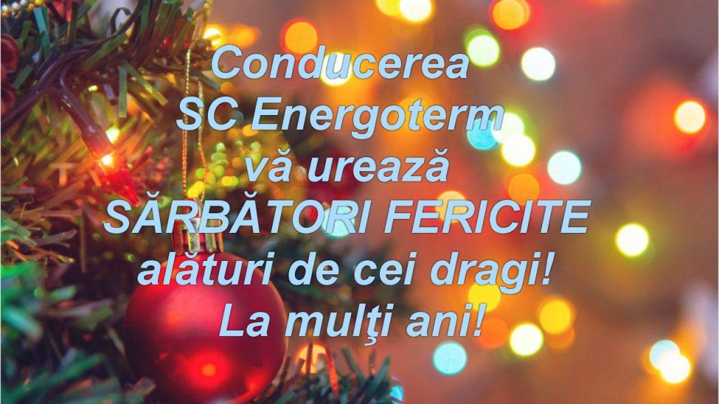 Energoterm vă urează Sărbători fericite!