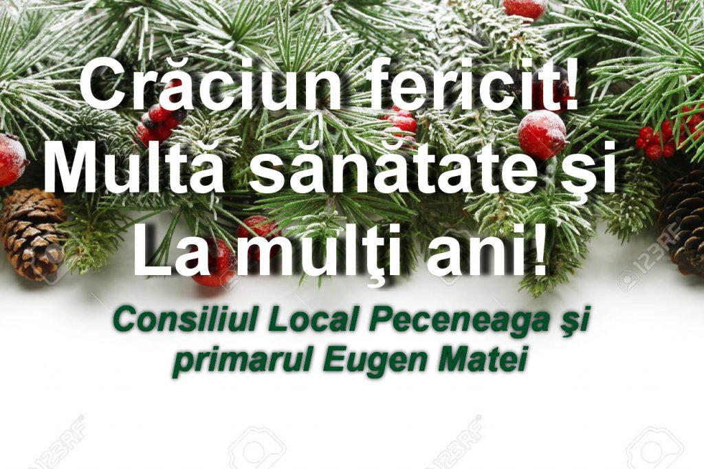 Consiliul Local şi Primăria Peceneaga vă urează