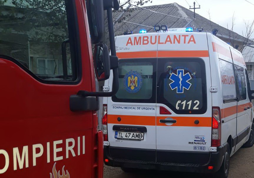 O femeie a suferit arsuri grave în urma unui incendiu la Carcaliu