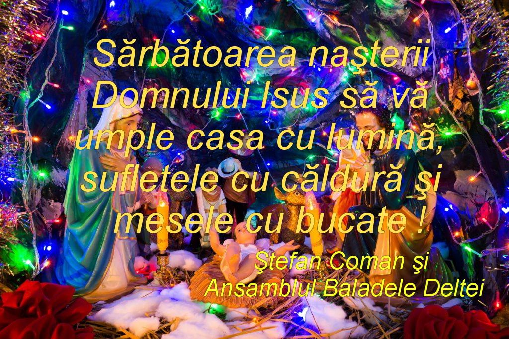 Ansamblul Baladele Deltei vă urează Sărbători fericite!