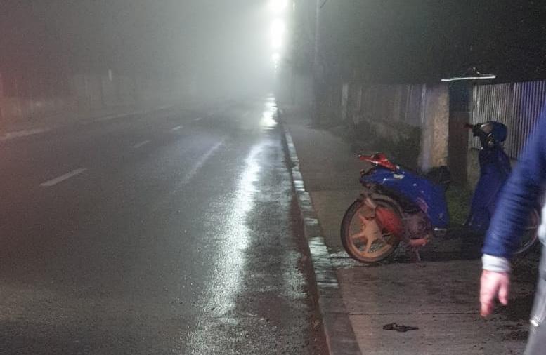 Tânăr de 19 ani, mort într-un accident de moped la Poșta