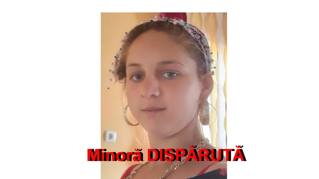 Minoră dispărută! Poliţia cere sprijinul populaţiei - UPDATE