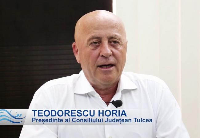 Mesaj de 1 Decembrie - Horia Teodorescu, președinte al Consiliului Județean Tulcea