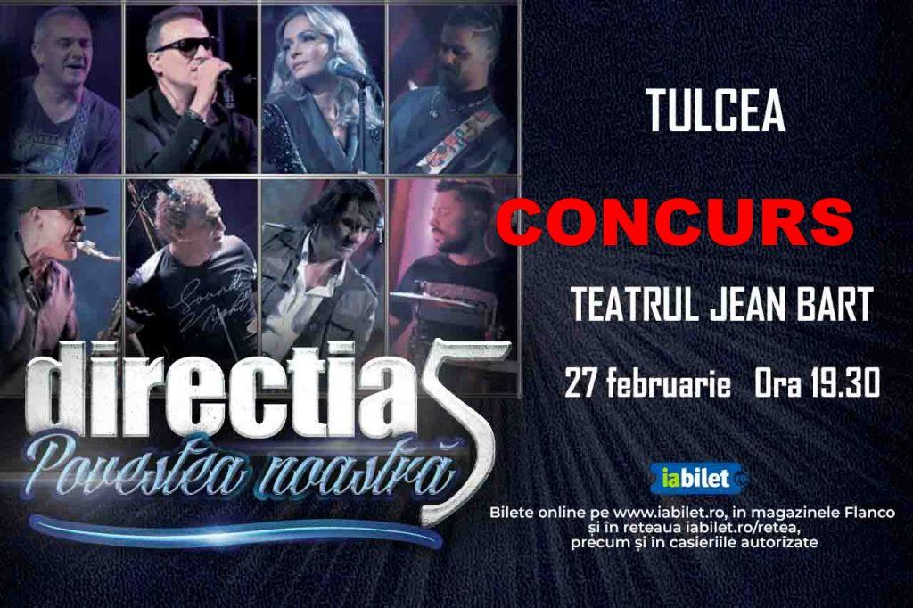 CONCURS! Vrei să mergi GRATIS la concertul Direcția 5?