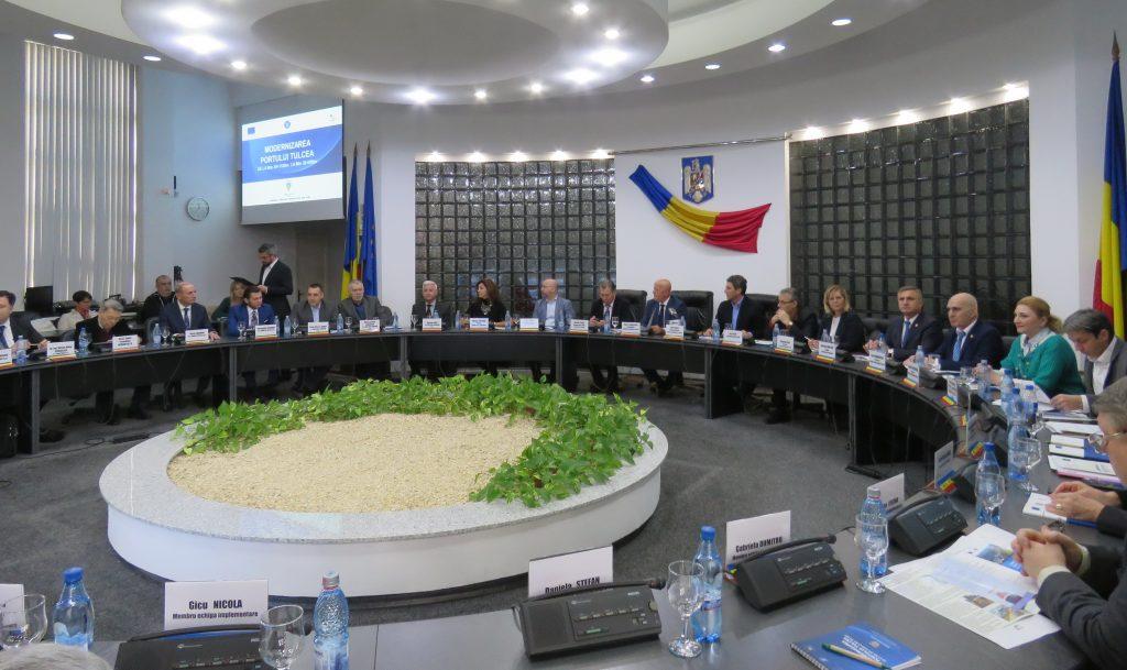 Cea mai mare investiţie pentru Tulcea! Azi s-a semnat contractul de proiectare pentru port (VIDEO)