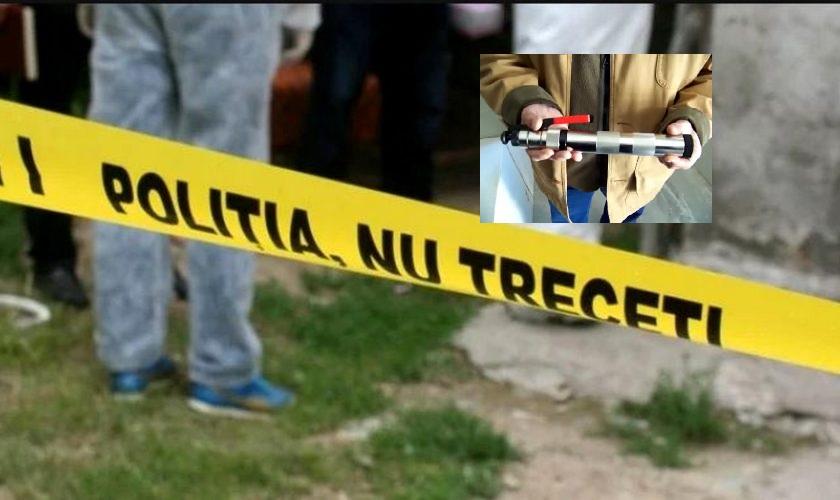Un bărbat din Agighiol s-a împuşcat cu un dispozitiv de omorât porci