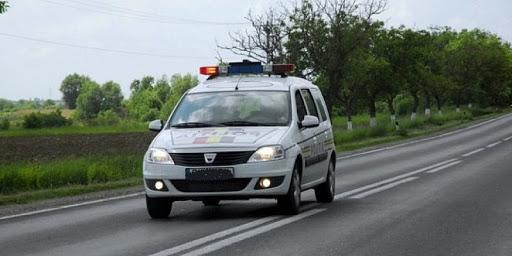 Accident cu peripeţii. Toată poliţia din oraş a fost mobilizată!