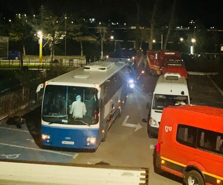 100 de persoane ajunse în această seară la Tulcea, de peste hotare, vor intra direct în carantină