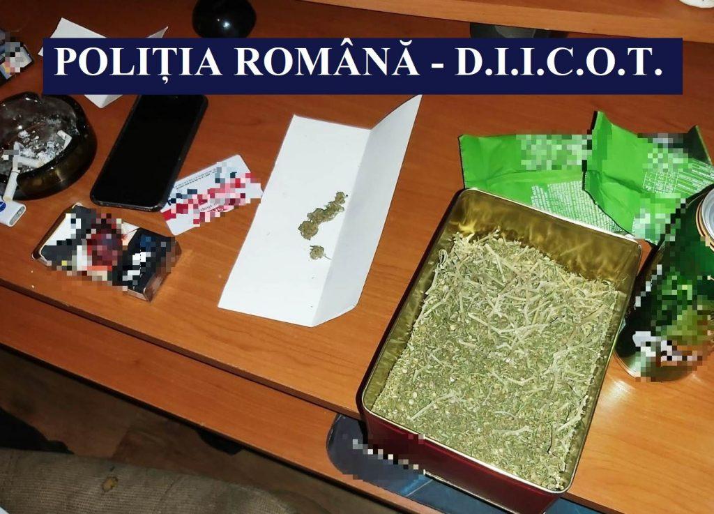 DIICOT confirmă arestarea la Tulcea a doi traficanţi de droguri de risc